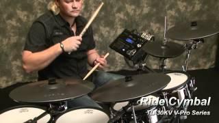 �������� ���� Электронная ударная установка ROLAND TD-30 V-Drums (на русском) ������