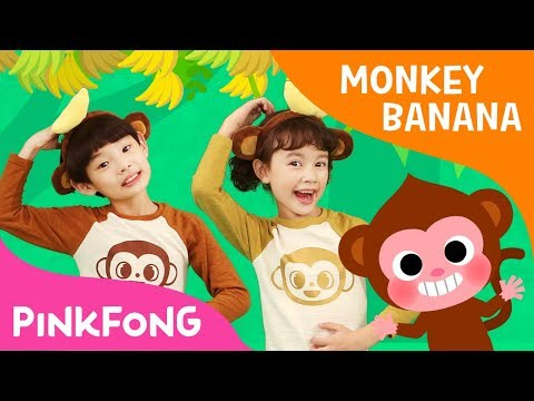 Monkey Banana Dance  Dance Along  Pinkfong Songs for Children