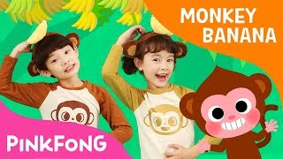 Monkey Banana Dance | Baby Monkey | Dance Along | Pinkfong Songs for Children thumbnail