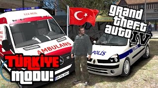 GTA 4 TÜRKİYE MODU! EFSANE MOD TURKISH CITY 2!