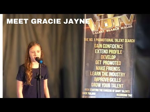 """""""Gracie Jayne """" performs Your My World @VOTV Talent Search Wales (Attendance Day)"""