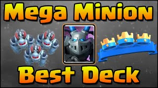 Clash Royale - Best Mega Minion Decks & Strategy!
