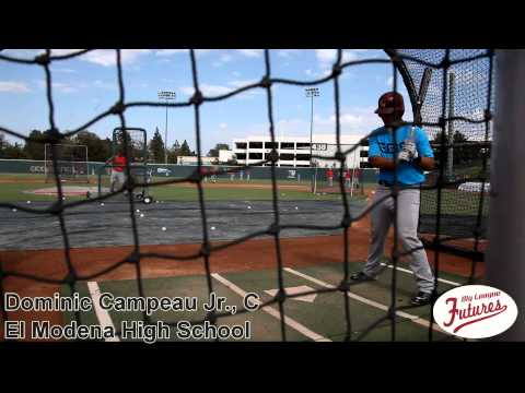 Dominic Campeau Jr  Prospect Video, C, El Modena High School Class of 2016 @elitebaseball