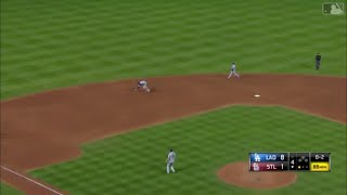 Manny Machado Unbelievable Barehanded Play vs Cardinals | Dodgers vs Cardinals