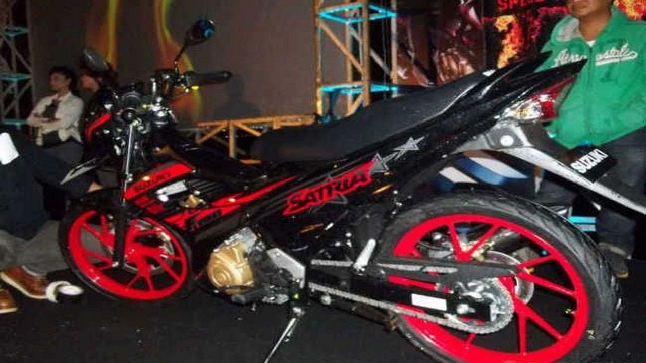 Koleksi 98 Modifikasi Satria Fu Titan Black Terbaru Motor Punk 10 150 Fire Terlengkap Palm