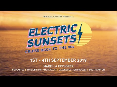 Join B*witched and S Club Party on Electric Sunsets - Cruise back to the 90s | Marella Cruises