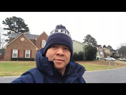 Tuyết đã rơi ở Atlanta...
