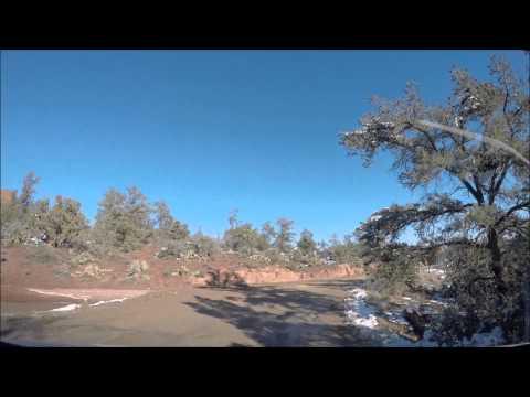 Sedona Arizona Day 2 Drive Jan 2015