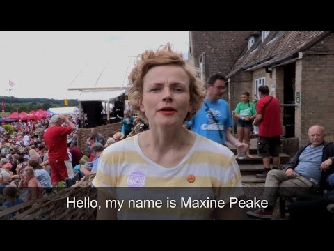 Maxine Peake- For a better Britain