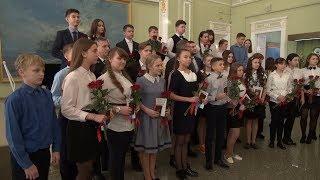 Торжественная церемония вручения паспортов 14-летним гражданам Омской области