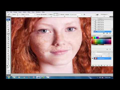 Retouching tutorial in hindi: photoshop cs3 & anurag 10 work skin.
