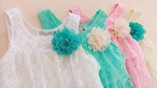 Нарядное кружевное детское платье с розой. Купить на AliExpress. US $4.10 - 4.71(, 2016-08-22T16:07:49.000Z)