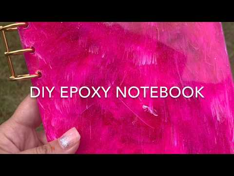 DIY *EPOXY* NOTEBOOKS