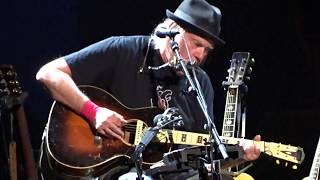 """Neil Young """"Love and War"""" 7/12/18 Boston MA"""