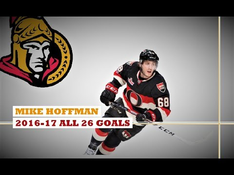 Mike Hoffman (#68) ● ALL 26 Goals 2016-17 Season (HD)