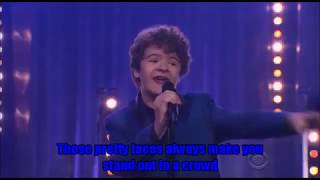 The Stranger Things Cast   LYRICS   Medley   2017   Upside Down   with James Corden
