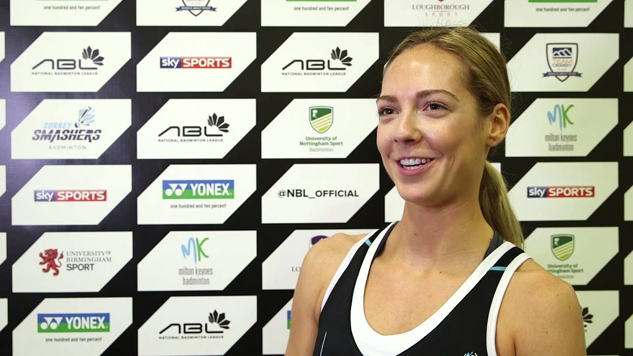 Quickfire questions with Surrey Smashers star Gabby Adcock