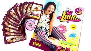 Video Álbum de SOY LUNA + 15 sobres de cromos y pegatinas de Panini + Póster gigante de Soy Luna download MP3, 3GP, MP4, WEBM, AVI, FLV September 2017