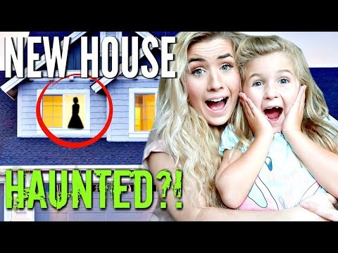 IS THERE A GHOST IN THE NEW HOUSE | PARANORMAL ACTIVITY | HAUNTED HOUSE | HickmanVlogs 2019
