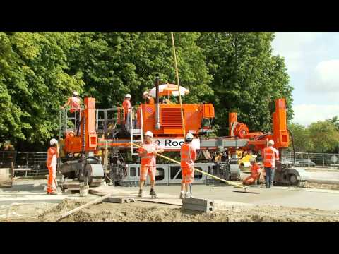 G&Z Slipform Paver And Paving Equipment Product Range