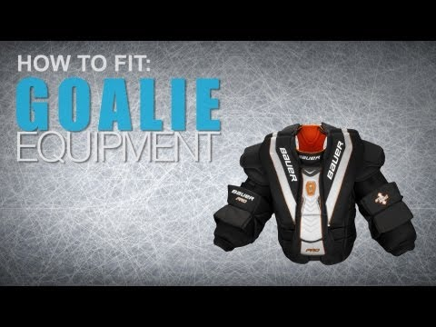 How To Fit Goalie Equipment: Chest & Arm Protectors