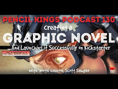 PK 130: Creating a Graphic Novel and Launching it Successfully on Kickstarter