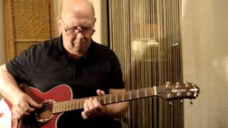 THREE CHORD RICHARD GUITARIST PLAYS No 12 rickstea Instrumental PD NOVICE OLD BOY !!