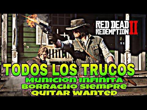 TODOS LOS TRUCOS OCULTOS de Red Dead Redemption 2 Como ir BORRACHO SIEMPRE