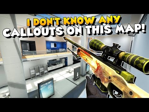 CS:GO - I DON'T KNOW ANY CALLOUTS ON THIS MAP! - Weapons Expert Viewergame