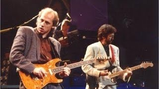 Gambar cover MARK KNOPFLER (Dire Straits) & ERIC CLAPTON - Sultans of Swing