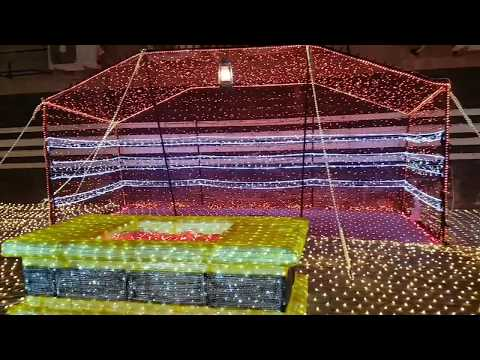 Kuwait City's Al Mubarakiya lit up for NATIONAL HOLIDAYS