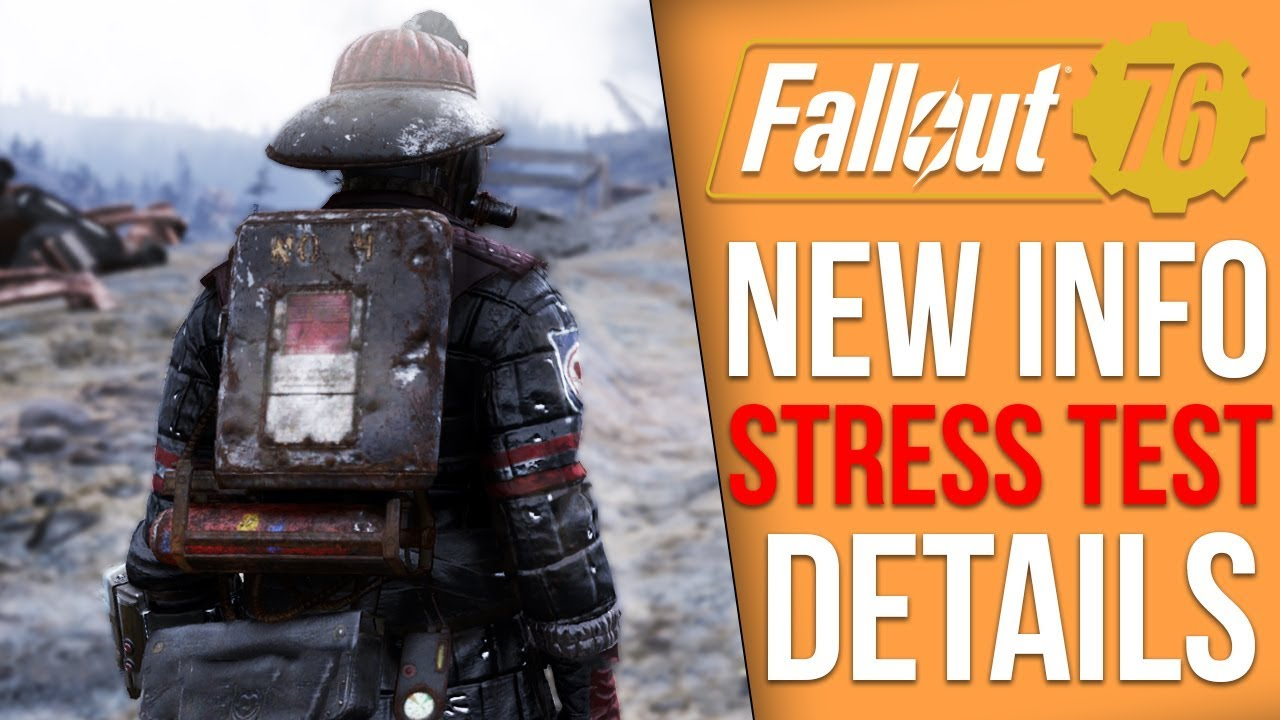 Fallout 76 News - Stress Test Leaks, Users Getting Banned, More Stress  Tests on the Way