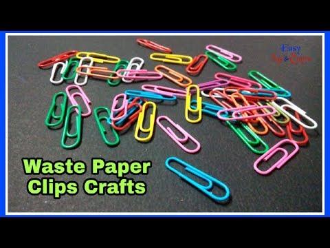DIY Paper Clip Craft - Paper Clip Creativity - Paper Clips Best Use