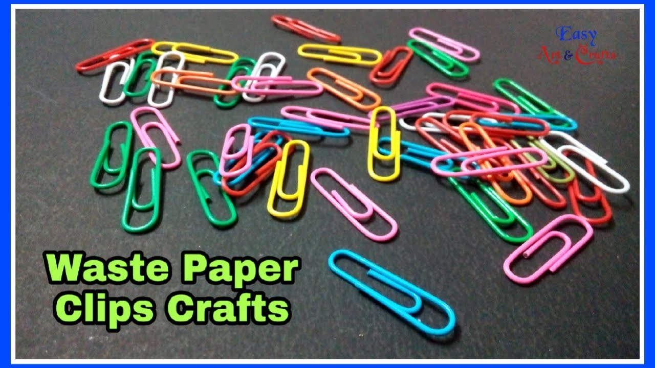 Diy Paper Clip Craft Paper Clip Creativity Paper Clips Best Use
