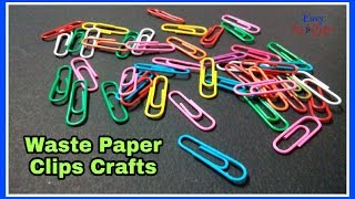DIY Paper Clip Craft - Paper Clip Creativity - Paper Clips Best Use
