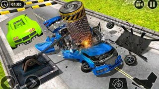 DEADLY RACE #16  Car bumps challenge 3d Gameplay Android iOS  ##6