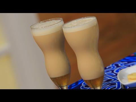 مشروب الدوم باللبن والايس كريم : سالي فؤاد