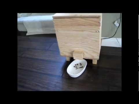 Homemade Automatic Dog (Pet) Feeder Update