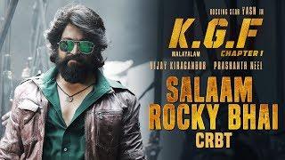 Salaam Rocky Bhai CRBT Codes | KGF Malayalam Movie | Yash | Prashanth Neel | Hombale Films