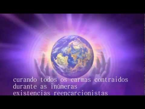 Chama Violeta e Energia Trina Travel Video