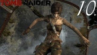 Tomb Raider (2013) Walkthrough Part 10 - Queda Livre. [18+]