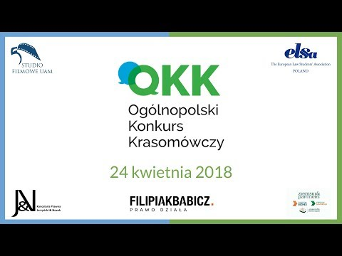 TRANSMISJA   XXII Ogólnopolski Konkurs Krasomówczy   24 IV 2018 r.