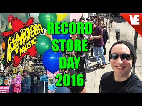 RECORD STORE DAY 2016: Amoeba Music in Hollywood!