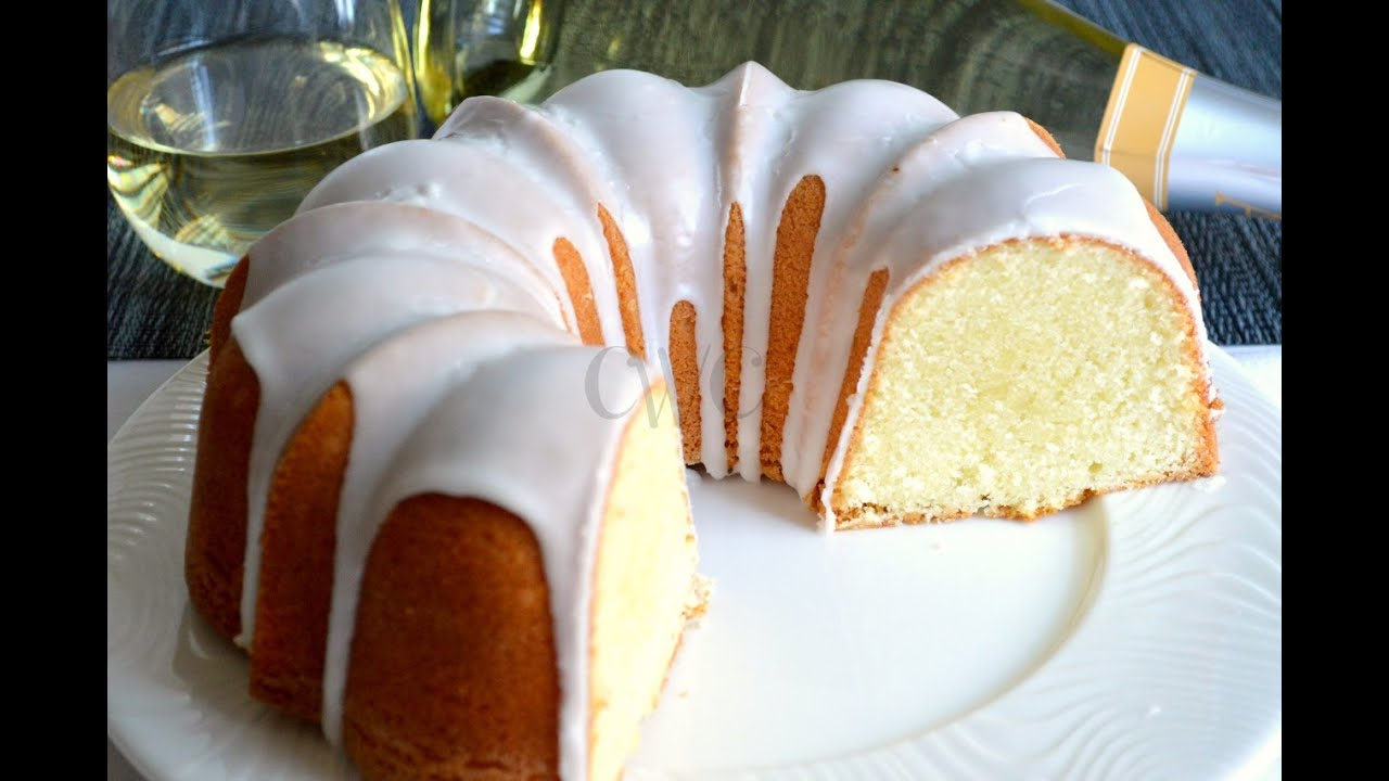 MOSCATO POUND CAKE | Old Fashioned Pound Cake Recipe with a Moscato Twist |Cooking With Carolyn
