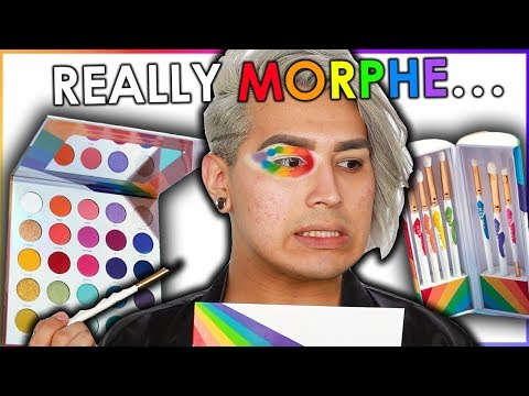 UNBIASED MORPHE 25L PRIDE PALETTE REVIEW Watch Before You Buy