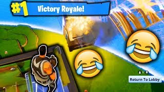 BARELY SURVIVNG!!!! (Fortnite Battle Royale)