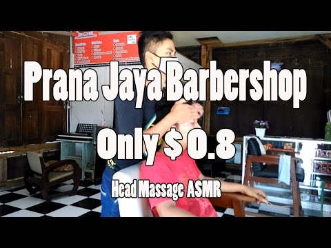 Prana Jaya Barber shop Face and Head Massage Only $ 0,8