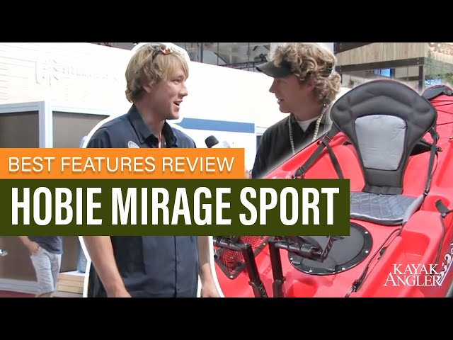 Hobie Mirage Sport 🎣 Fishing Kayak 📈 Specs & Features Review and Walk-Around 🏆