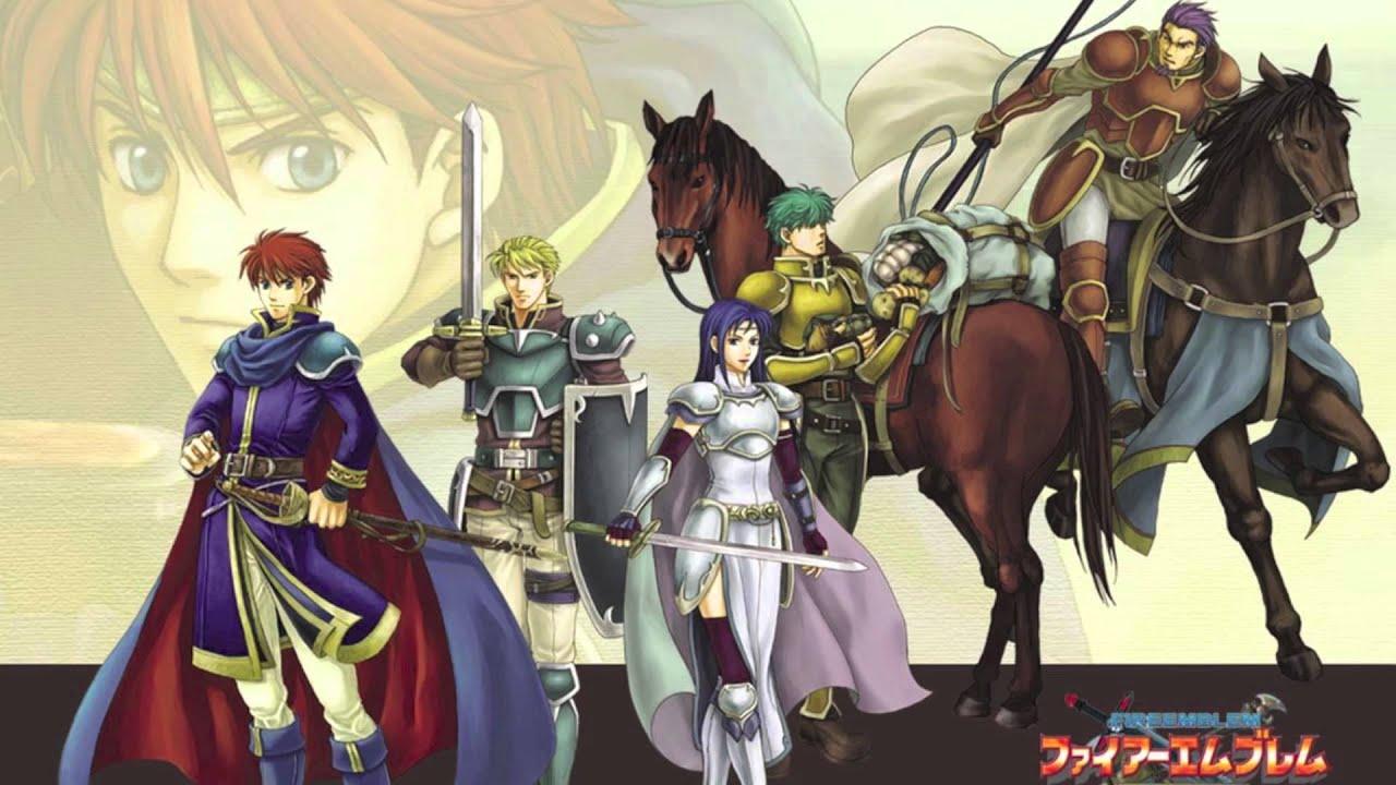 Fire Emblem Blazing Sword Winds Across Plains Full