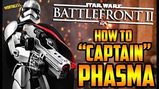 Star Wars Battlefront 2: How to Not Suck - Captain Phasma Hero Guide and Review